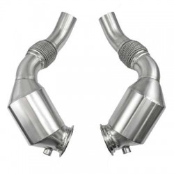 """Bull-X downpipe 2.75 """"for BMW M5 and M6 F10 F12 / 13"""