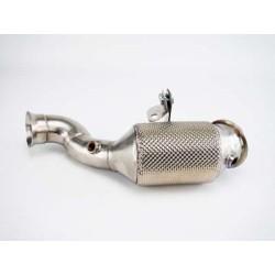 "Bull-X downpipe 2.75 ""for Mercedes-Benz C-Class W205 C200 / C250 / C300 / C350 2.0T"
