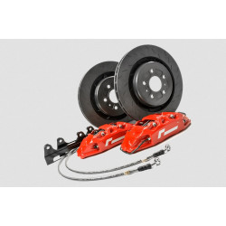 RacingLine Front Brake Kit, 345mm Disc and 4-Pot Calipers Mk7 Golf MQB-Plaform VWR65 G701