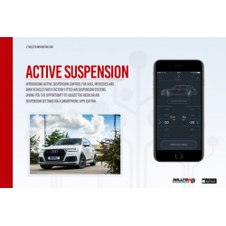 Milltek Active Suspension Control Audi RS6 C7 4.0 TFSI SSXAU672