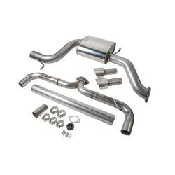 VWR Golf 7 GTI Rear Exhaust System