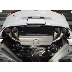 VWR Golf 7R Rear Exhaust System Valved (Cat-back)