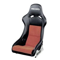 Recaro Pole Position czarno czerwony fotel kubełkowy 070.77.0886