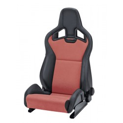 Recaro Sportster CS black/red fotel kubełkowy 410.10.1/2585