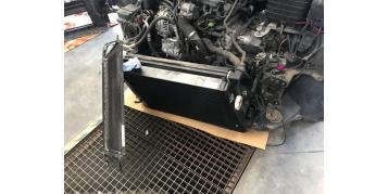Montaż intercoolera Wagner Tuning do VW Golf MK6 GTI (niedługo Stage 4+)